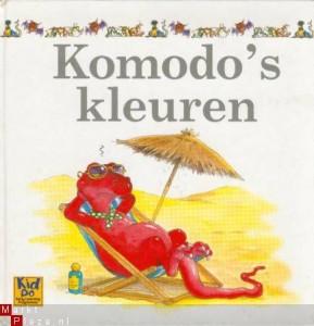 Komodo's kleuren